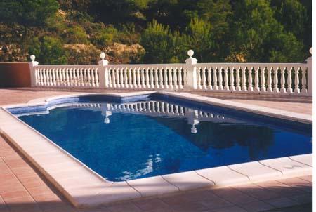 Coronación piscina