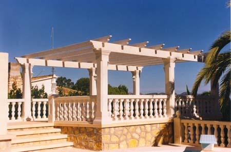 Detail of beams